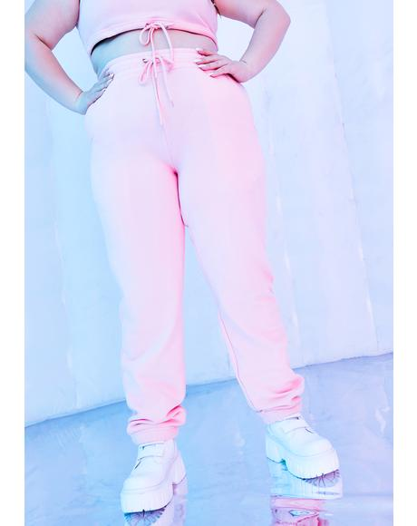 Infinite Fairy Flurry High Waist Joggers