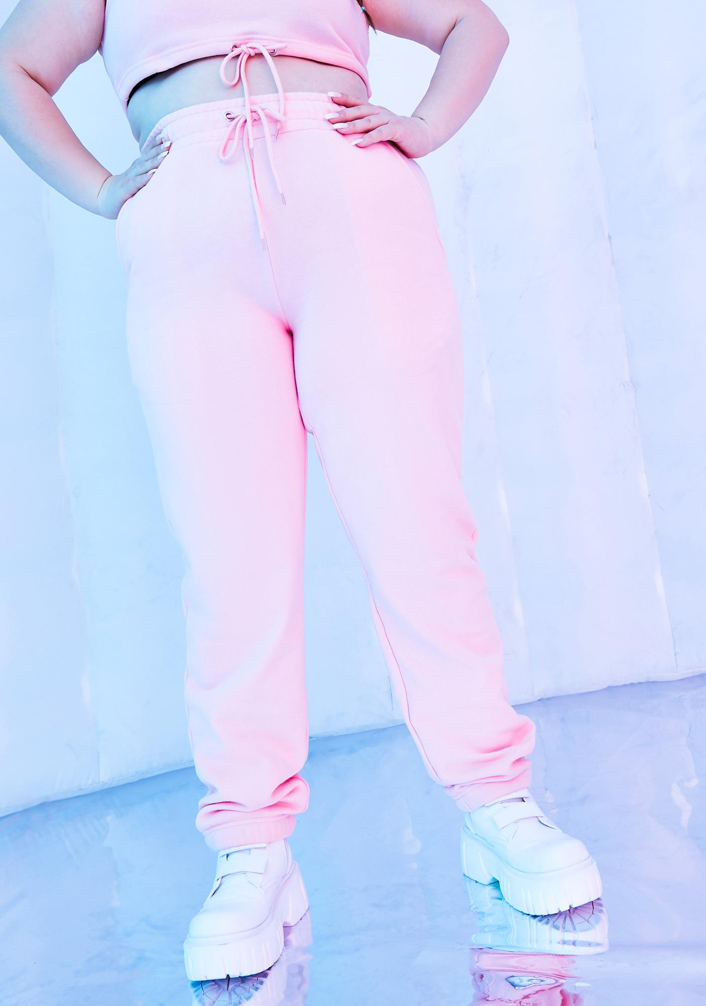 Club Exx Infinite Fairy Flurry High Waist Joggers