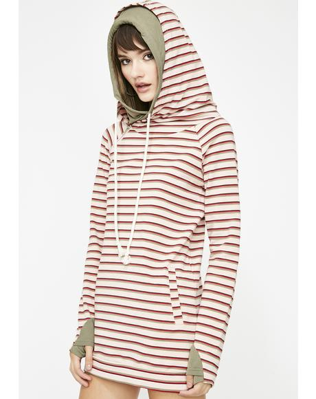 Weekend Crush Stripe Hoodie