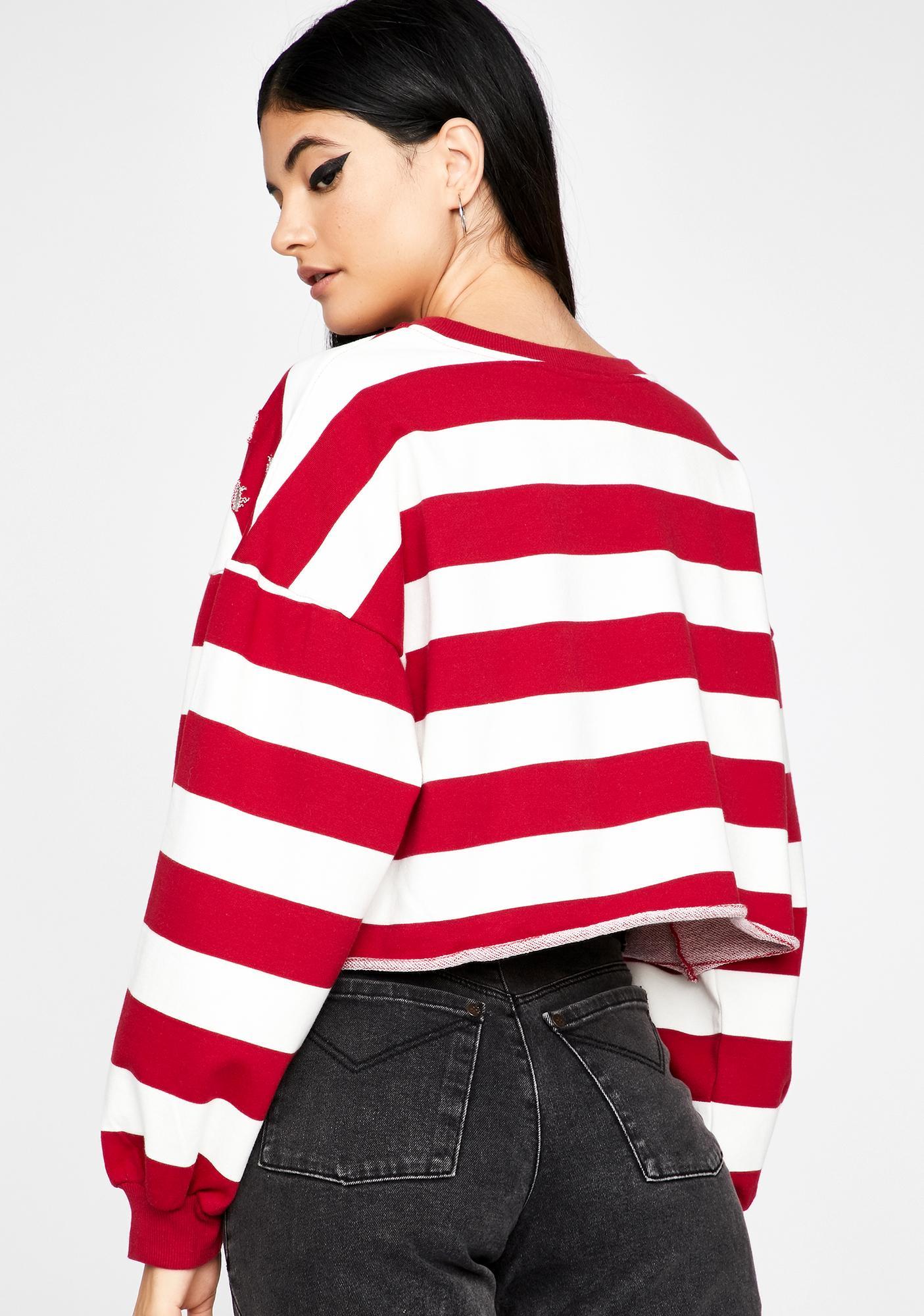 Waldo Who Stripe Top