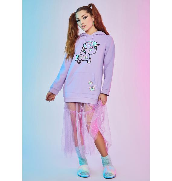 Dolls Kill x tokidoki Fairy Kingdom Graphic Oversized Hoodie