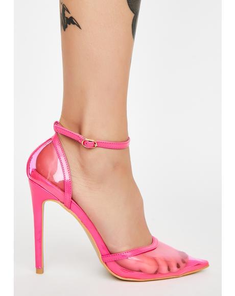Crazy Patent Heels
