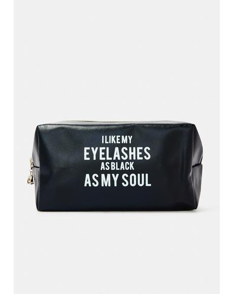 Dark Intentions Makeup Bag