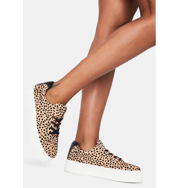 Leopard Royal Pain Platform Sneakers
