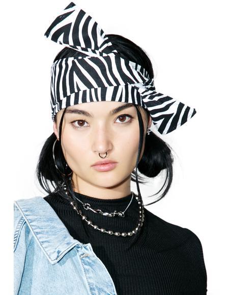 Zebra Headscarf