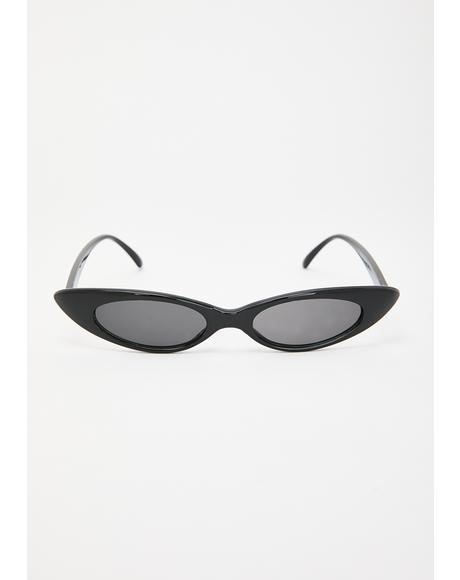 Wastin' My Time Cat Eye Sunglasses