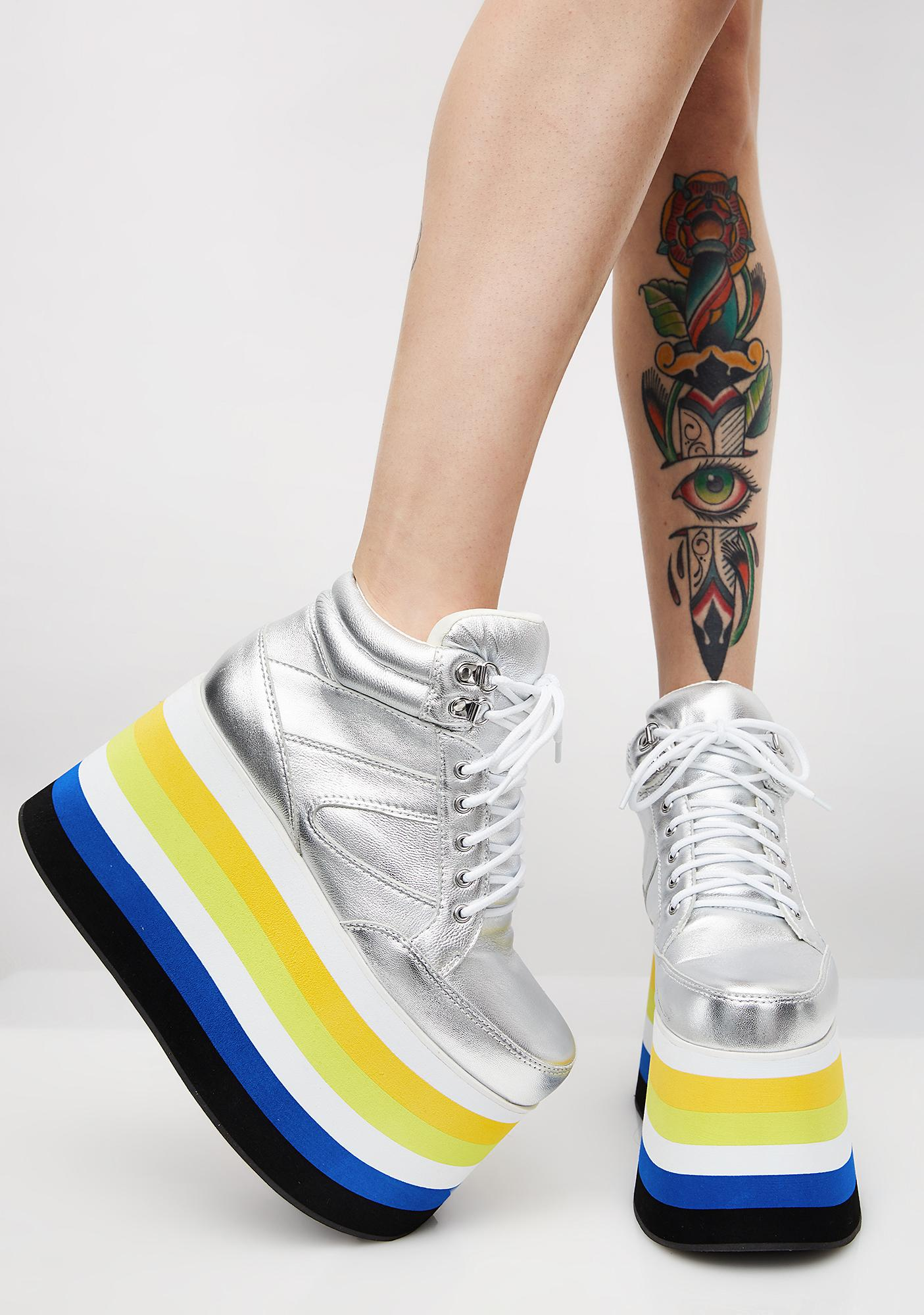 Shellys London Dema Platform Sneakers