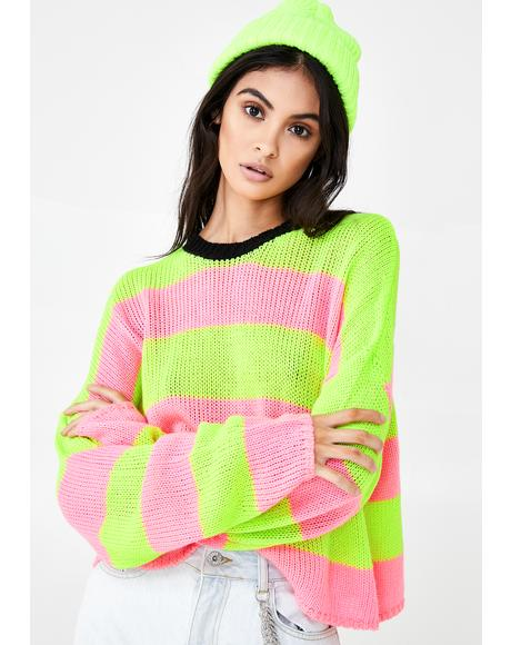 Live Wire Knit Sweater