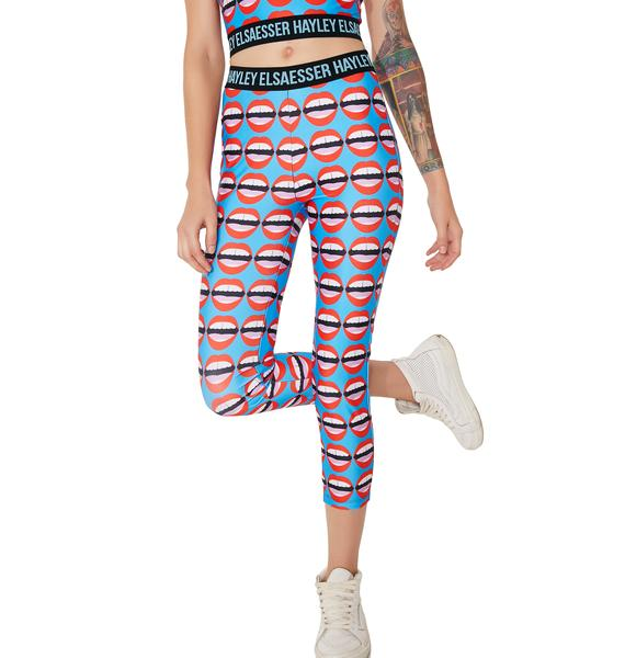 Hayley Elsaesser Mouthy Sports Leggings