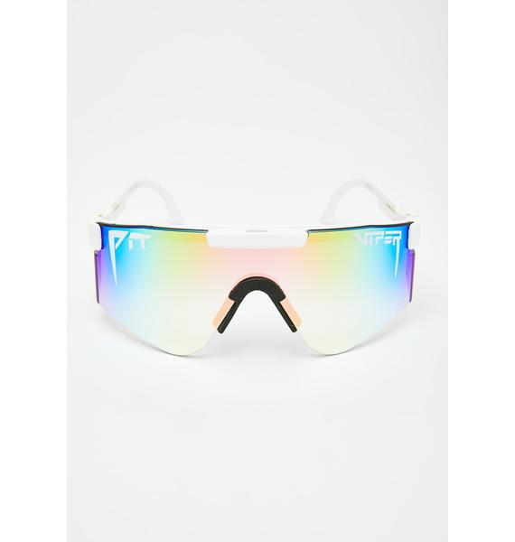 Pit Viper The Miami Nights Double Wide Sunglasses