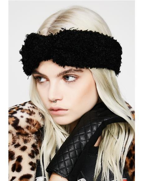 Toasted Fuzzy Headband