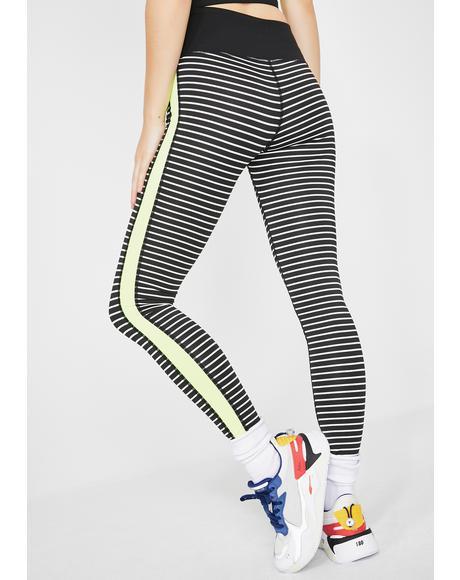 Better Work Bish Stripe Leggings