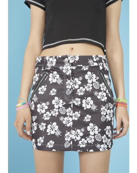 Island Time Mini Skirt