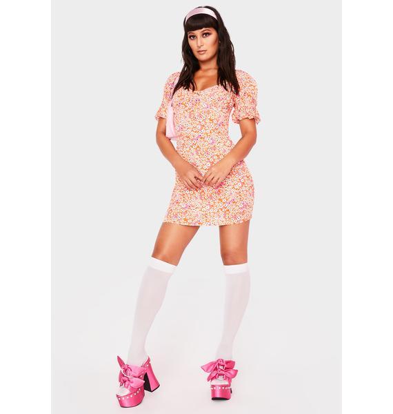 Lolly Poppyseed Dream Mini Dress