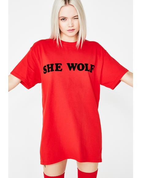 She Wolf Tee