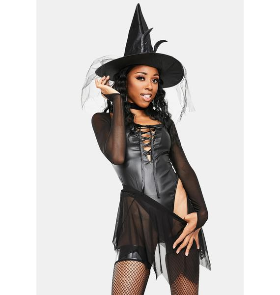 Dolls Kill In The Night Witch Costume