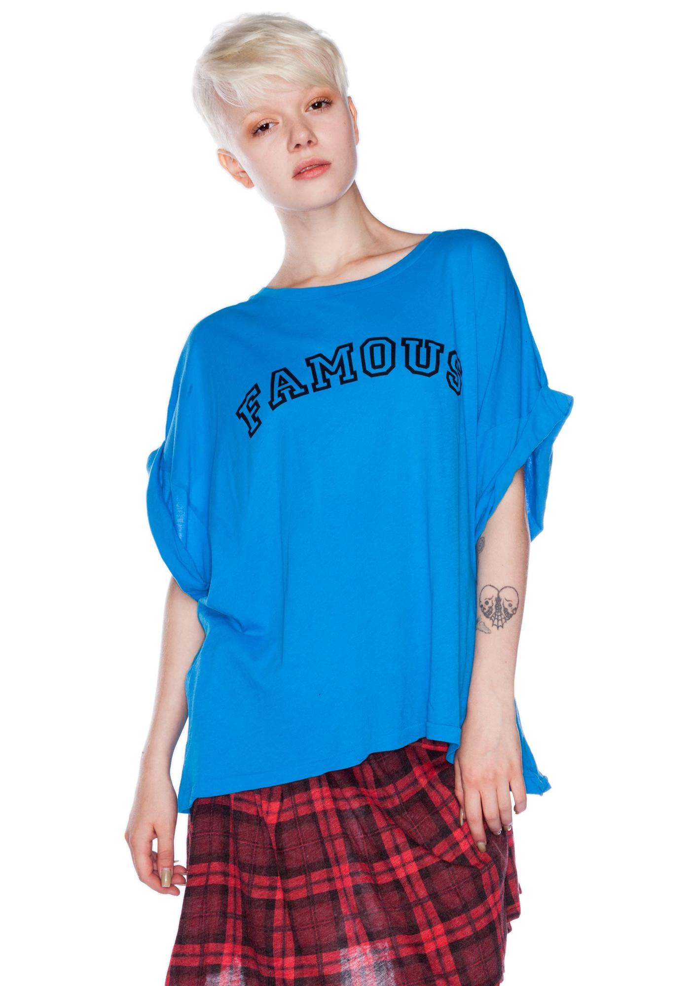 Wildfox Couture Famous Boy Tee