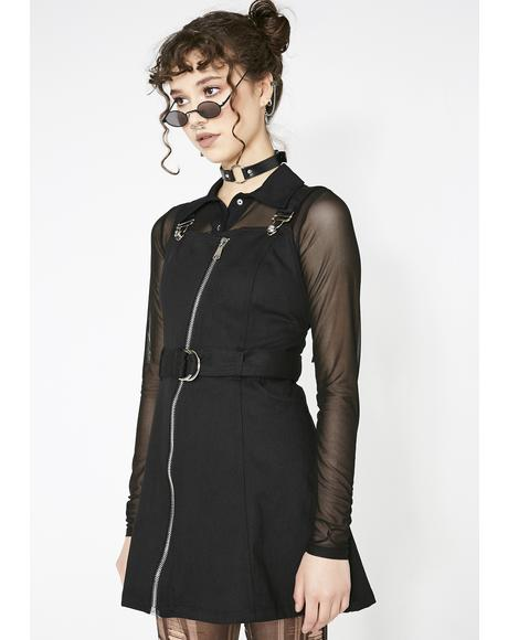 Punk Metal Cowboy Dress