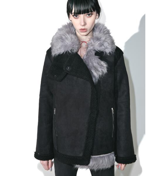 Twice As Nice Faux Fur Jacket