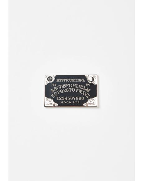 Ouija Board Pin