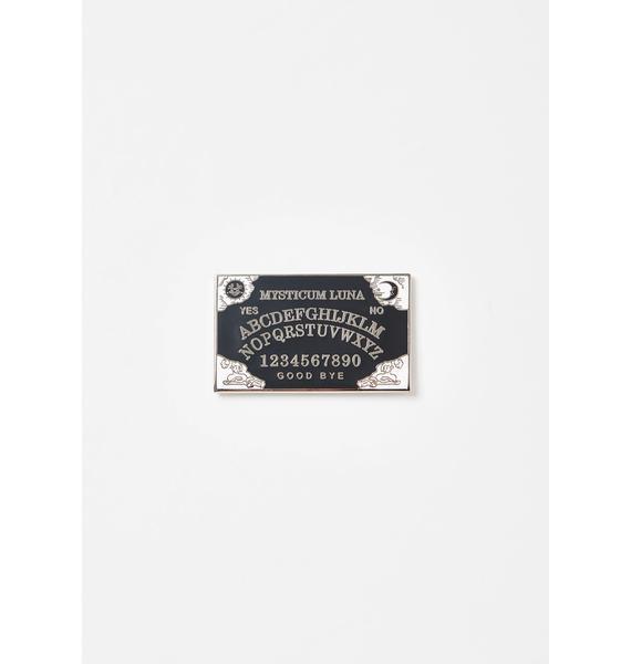 Mysticum Luna Ouija Board Pin