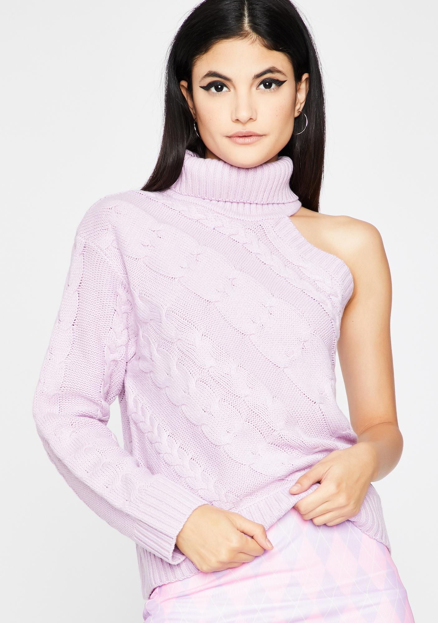 Camera Shy Knit Sweater