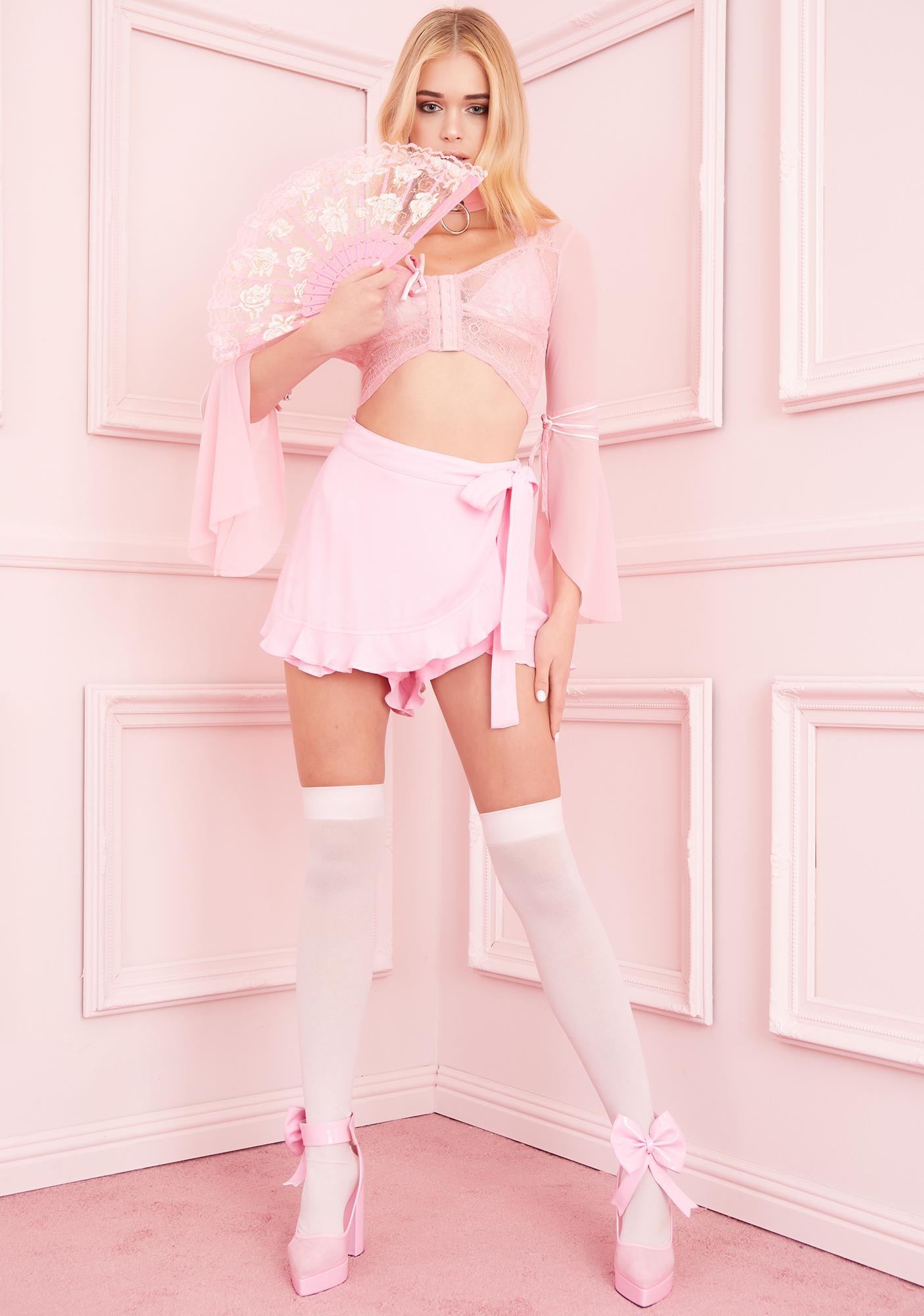 Sugar Thrillz Steal Ur Crush Lace Top