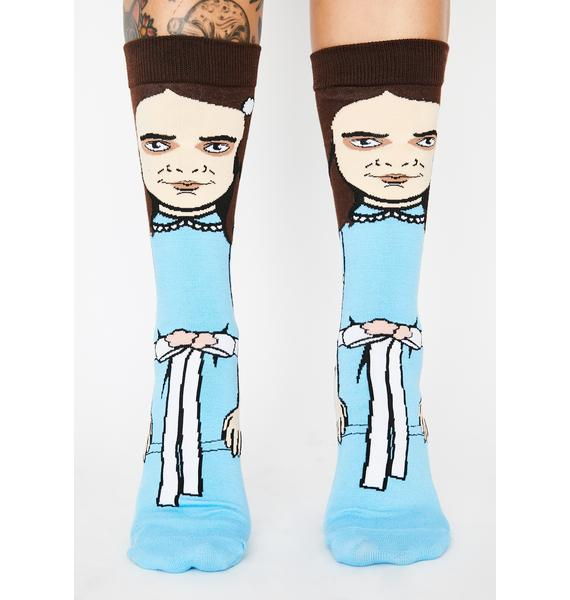 Come Play With Us Crew Socks