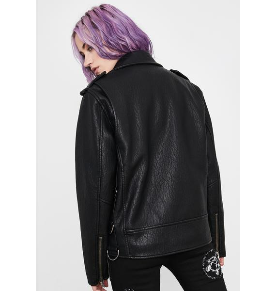 Current Mood Deadly Encore Moto Jacket