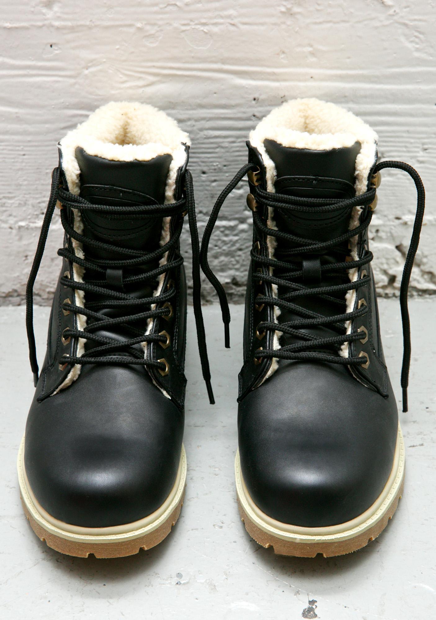 Lugz Regiment High Fleece Boots