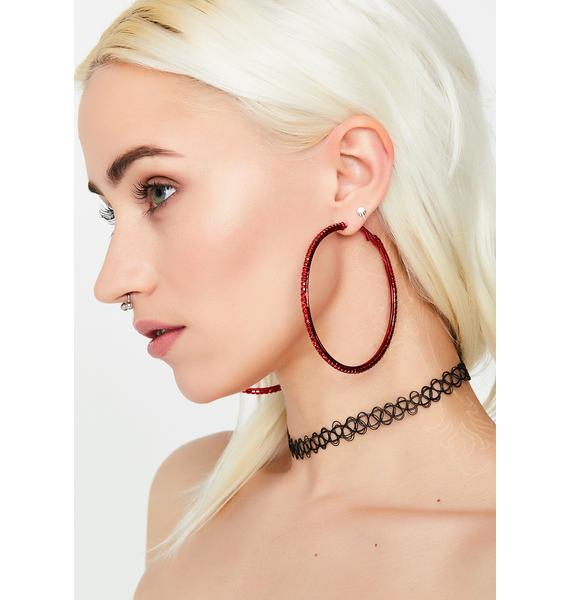 Spice Ice Cold Looks Hoop Earrings