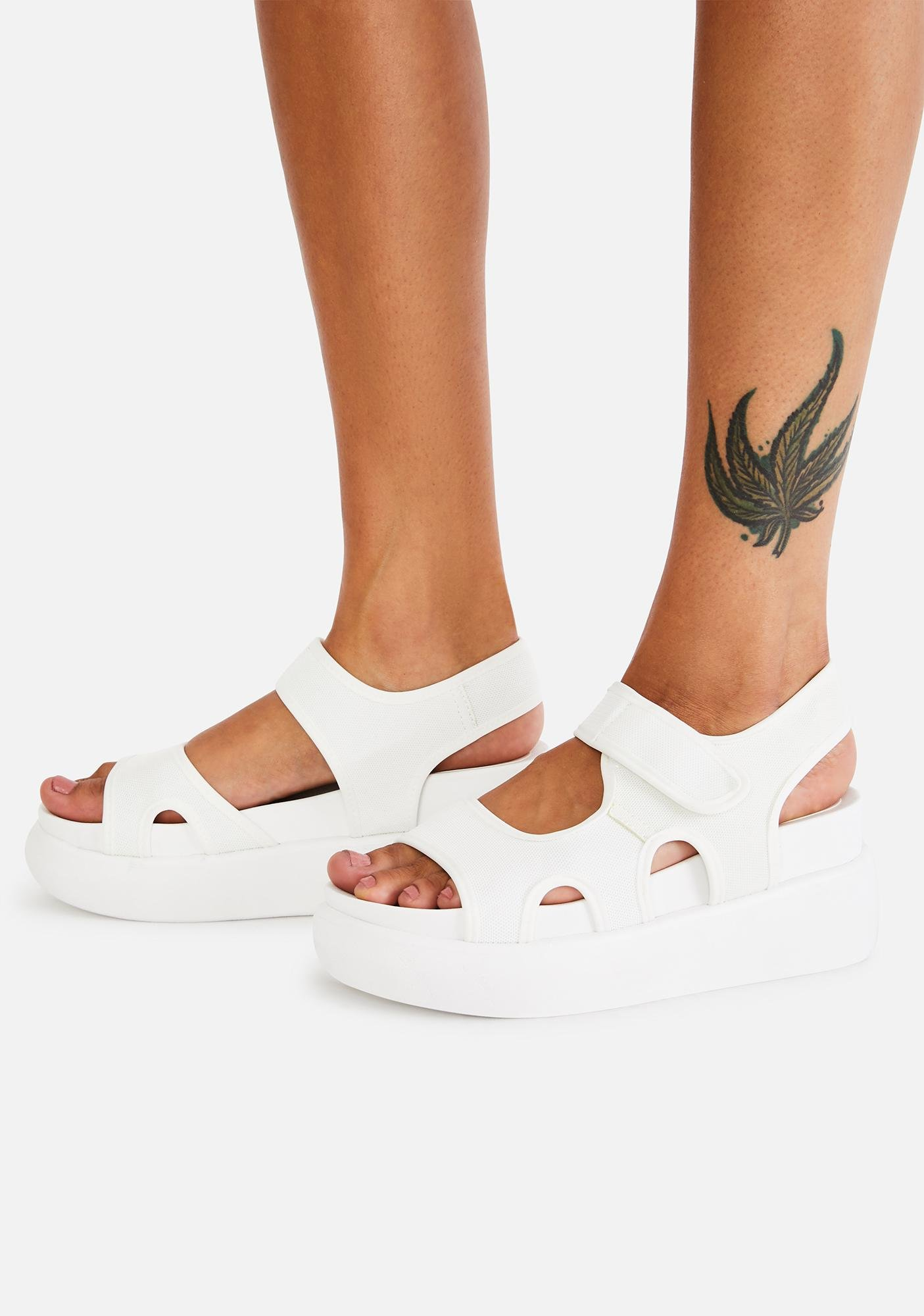 Boo Here To Win Platform Sandals