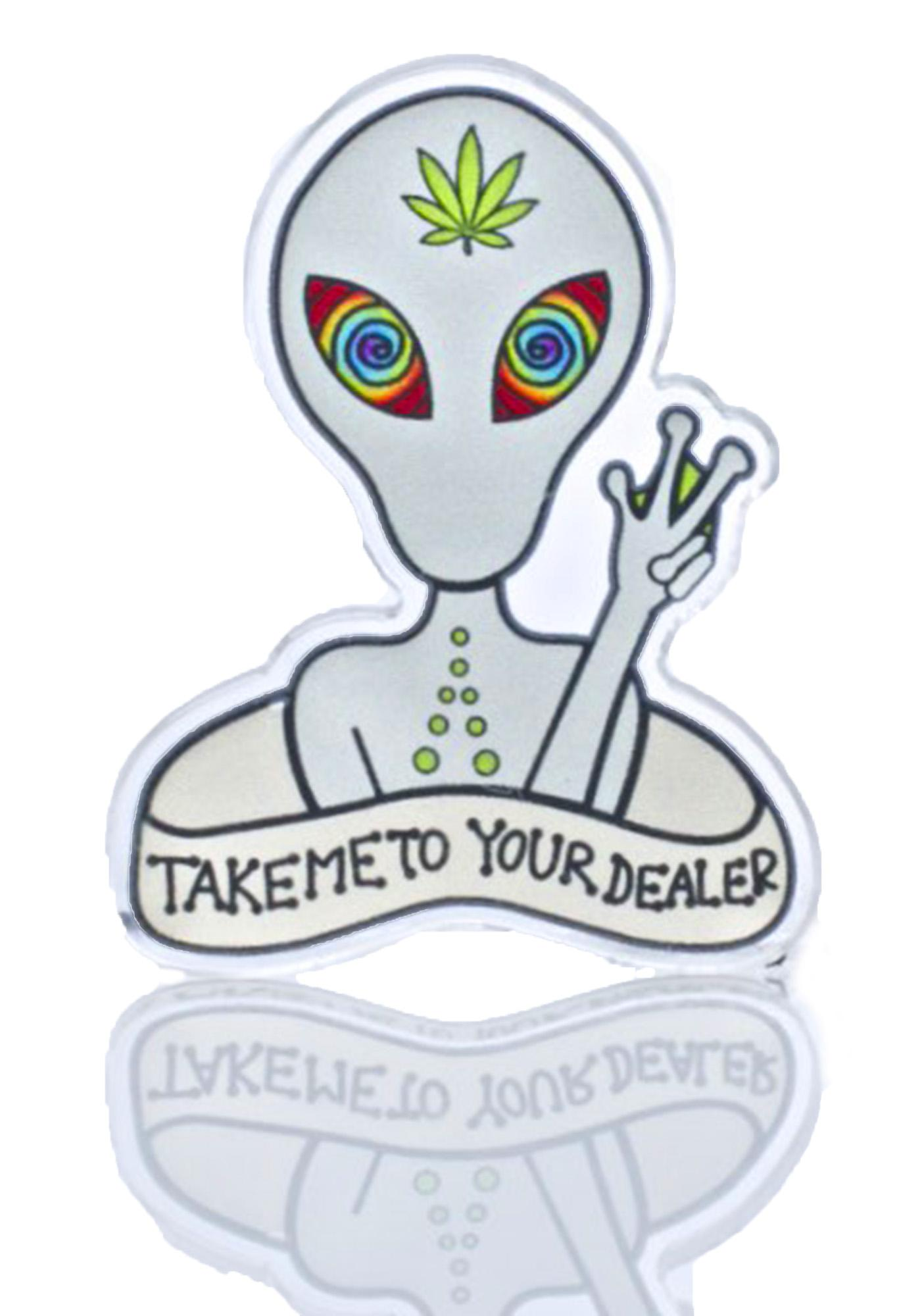 Punky Pins Alien Addict Pin
