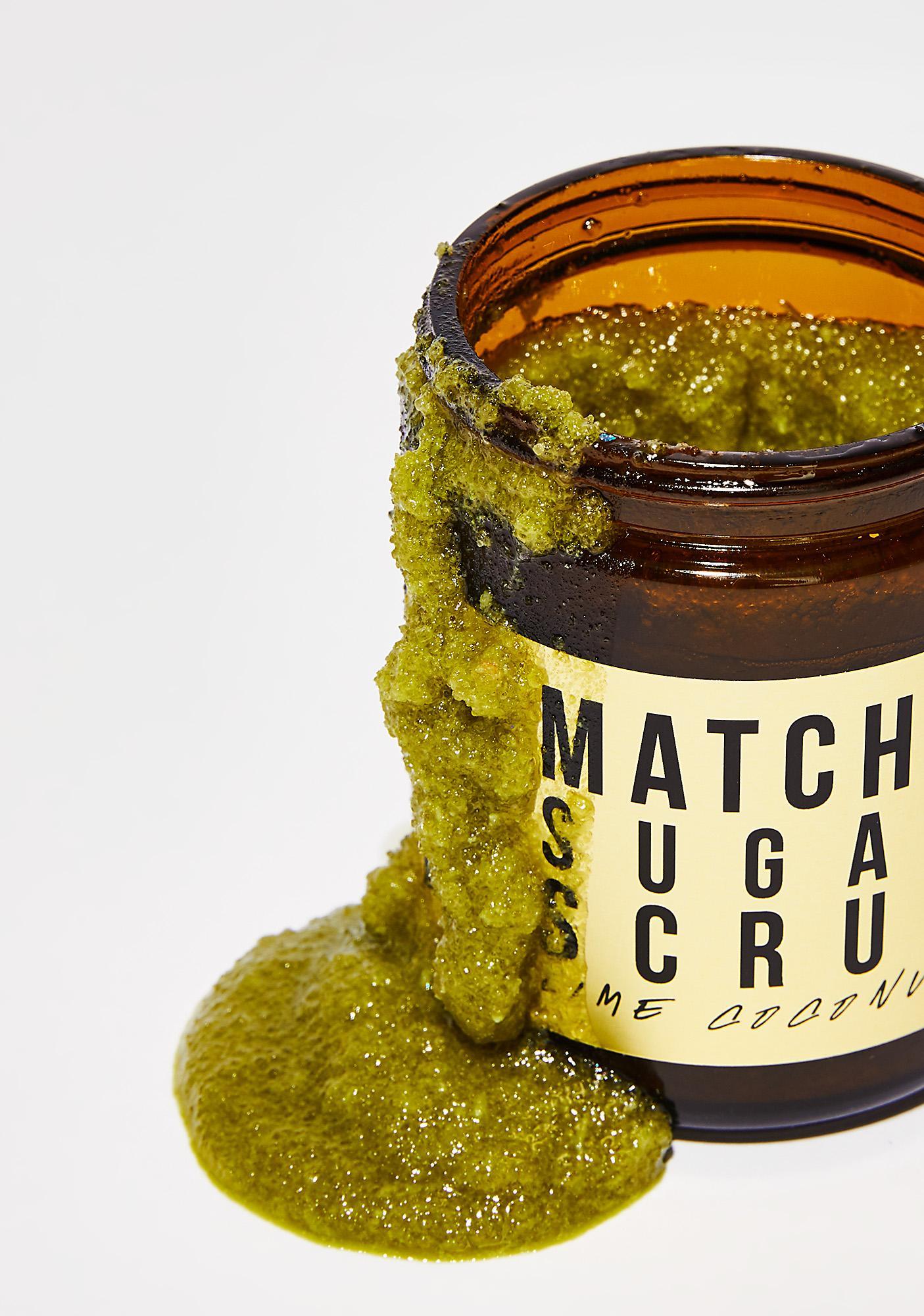 URB APOTHECARY Matcha Sugar Scrub