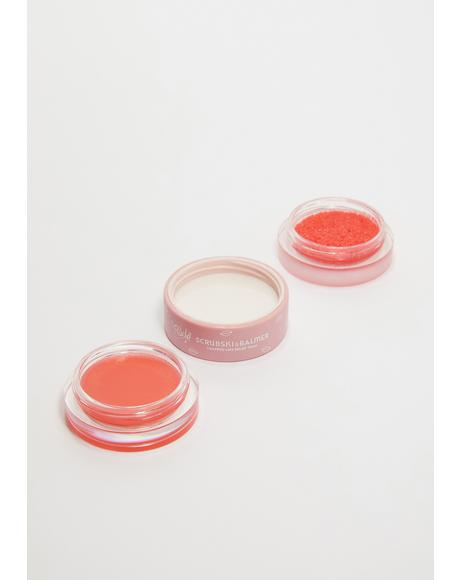 Peach Scrubski & Balmer Lip Exfoliator