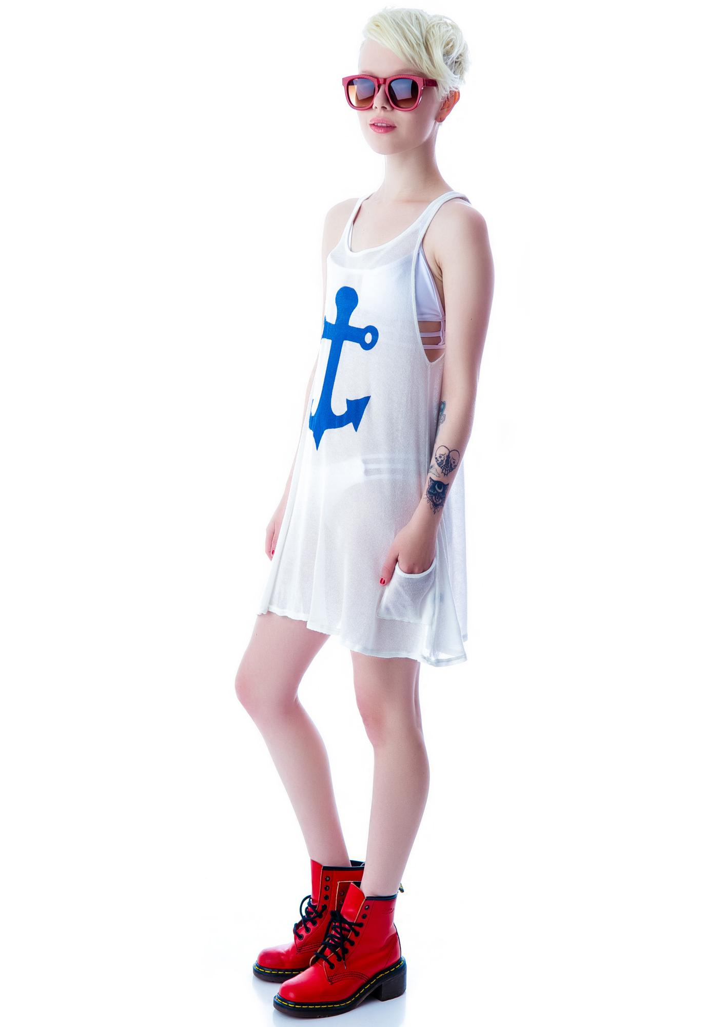 Wildfox Couture Yacht Baby Santorini Swing Dress