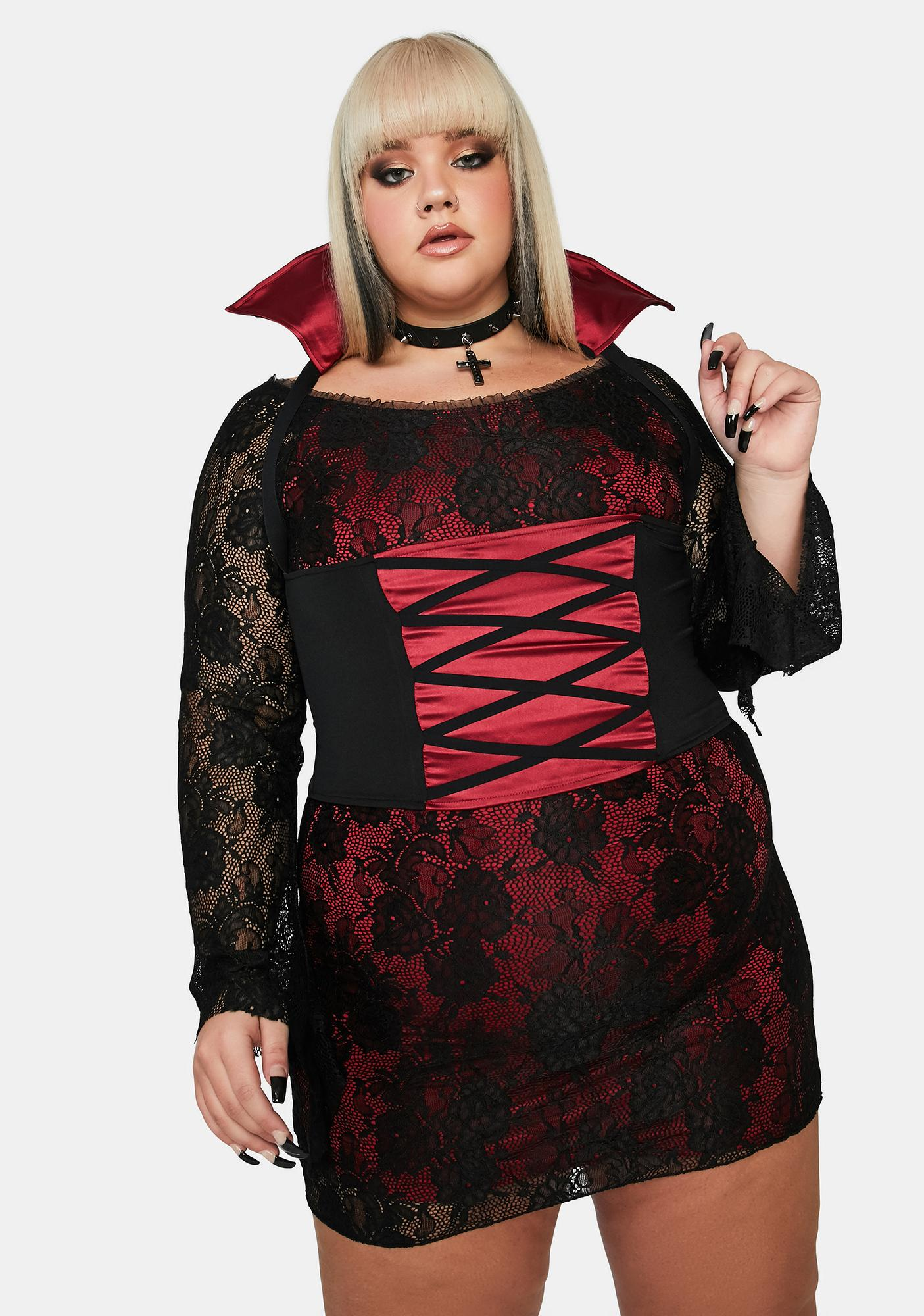 Dolls Kill Forever Blood Thirsty Vampire Costume