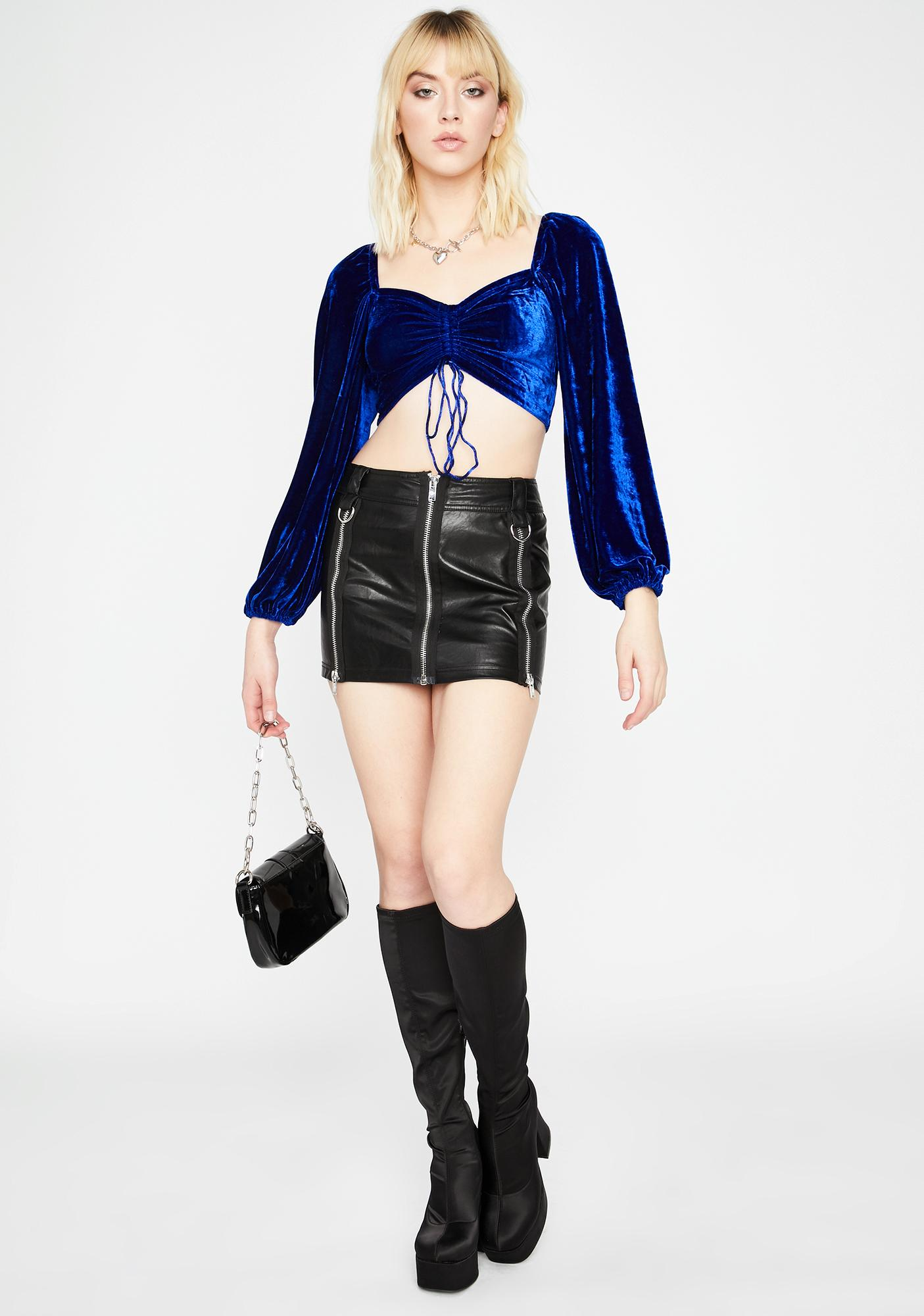 Royal Chase The Feeling Crop Top