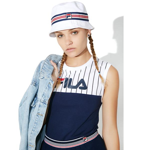 3ddcd227 Fila Casper Bucket Hat | Dolls Kill