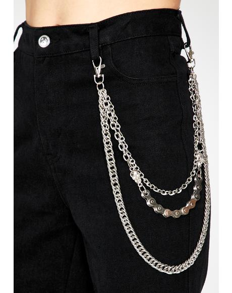Locos Only Layered Belt Chain