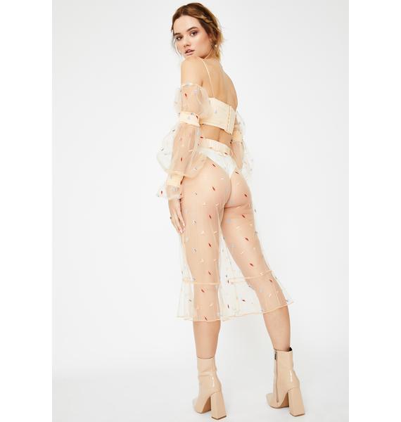 ZYA Dulce Sol Sheer Pants
