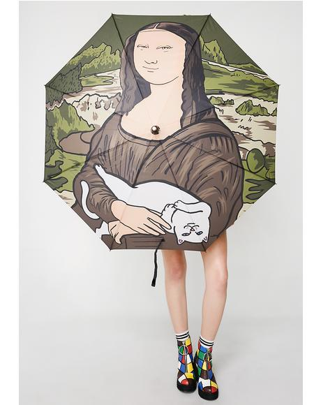 Nermal Lisa Umbrella