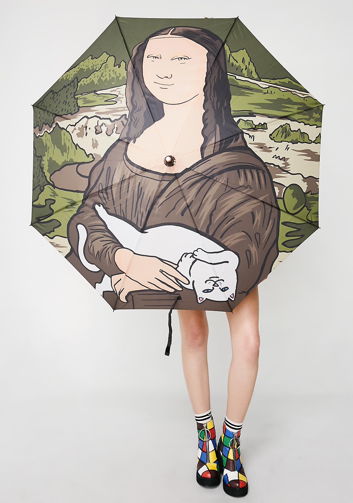 Nermal Lisa Umbrella by Ripndip