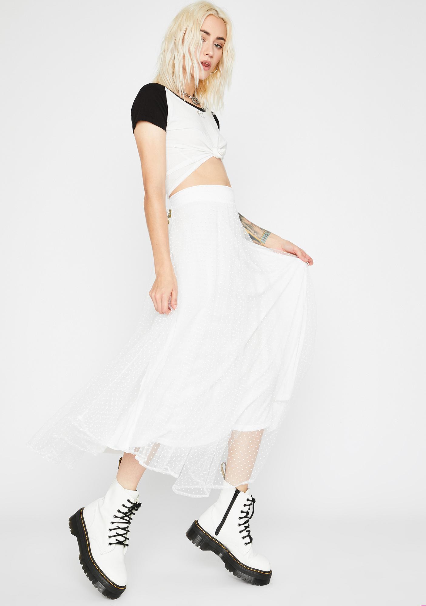 Pure Fussy Flirt Tulle Skirt