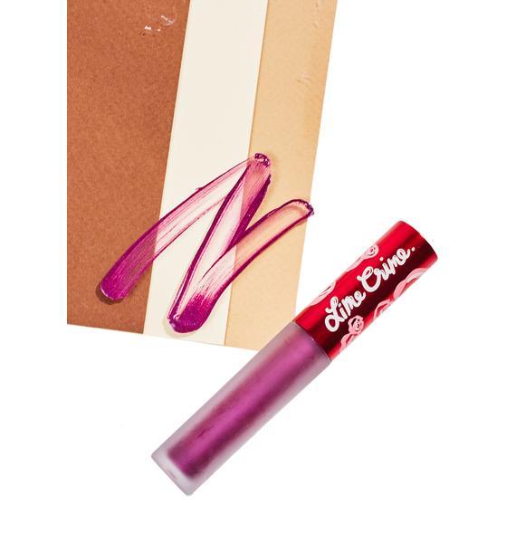 Lime Crime Posh Metallic Velvetine Liquid Lipstick