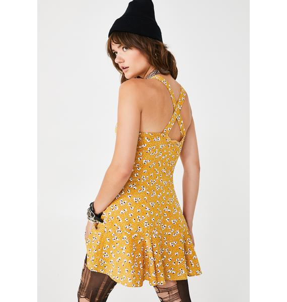 Daisy Day Mini Dress