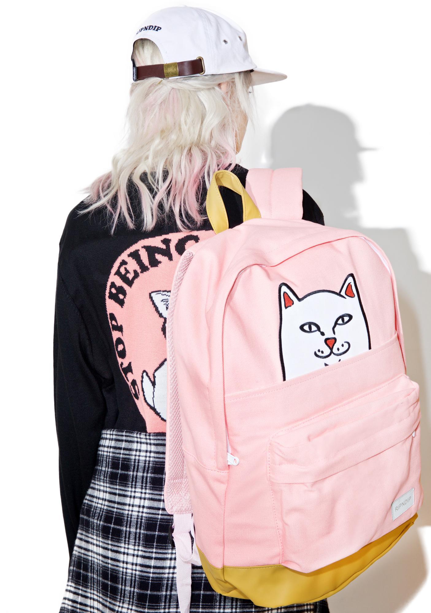RIPNDIP Cute Lord Nermal Backpack