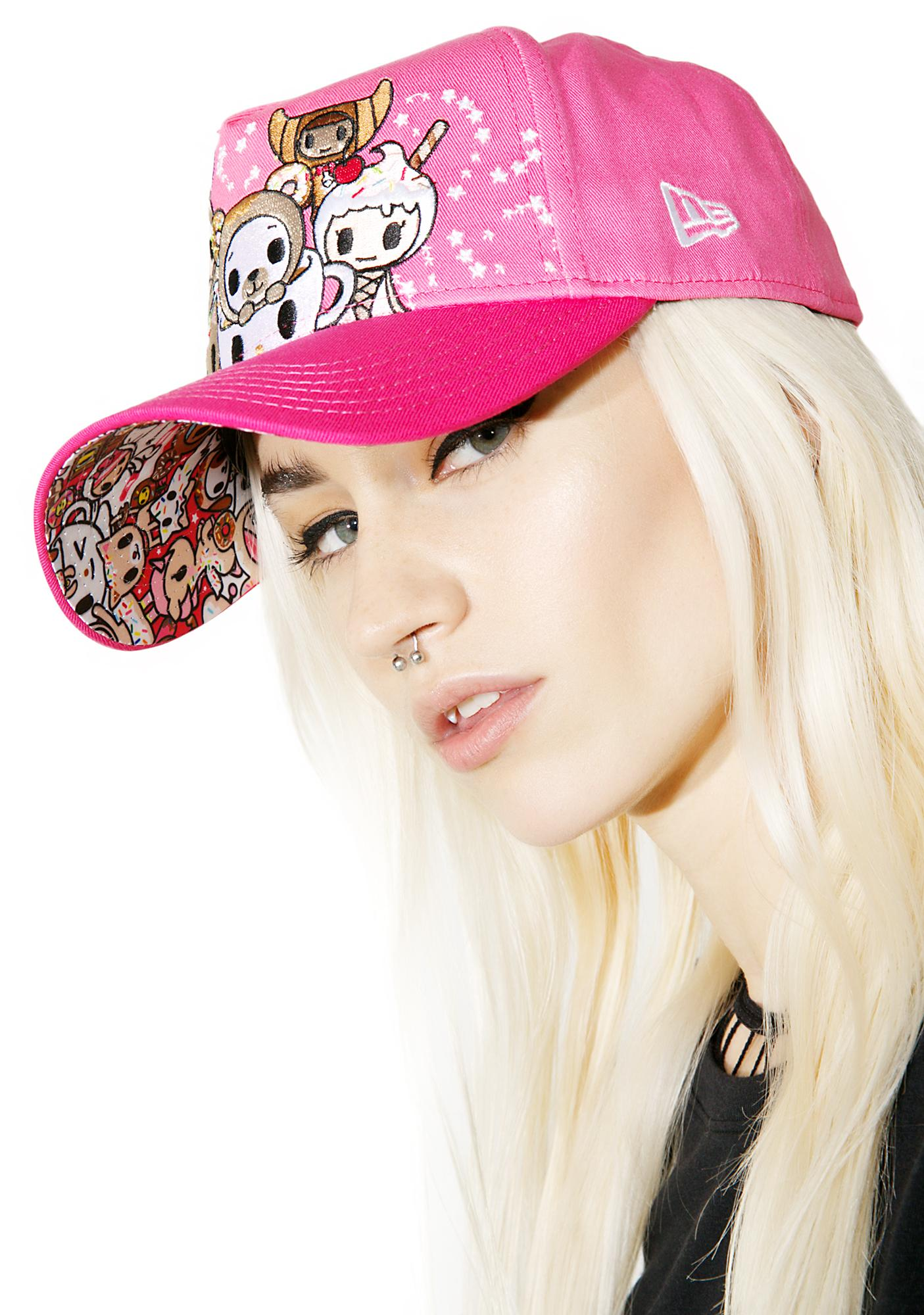 Tokidoki Bearnut Trucker Hat