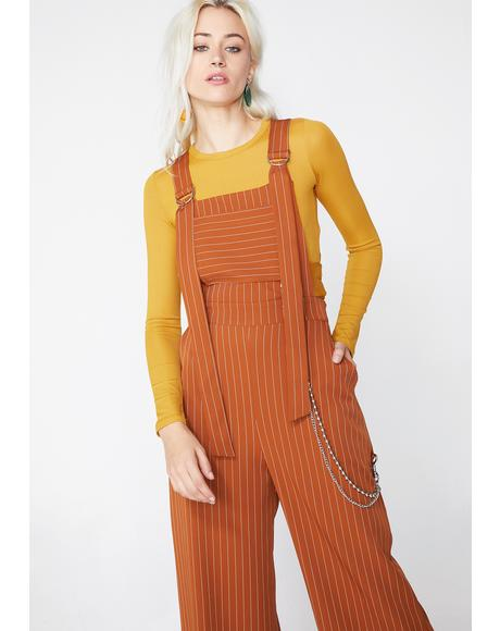 Strip Dungaree