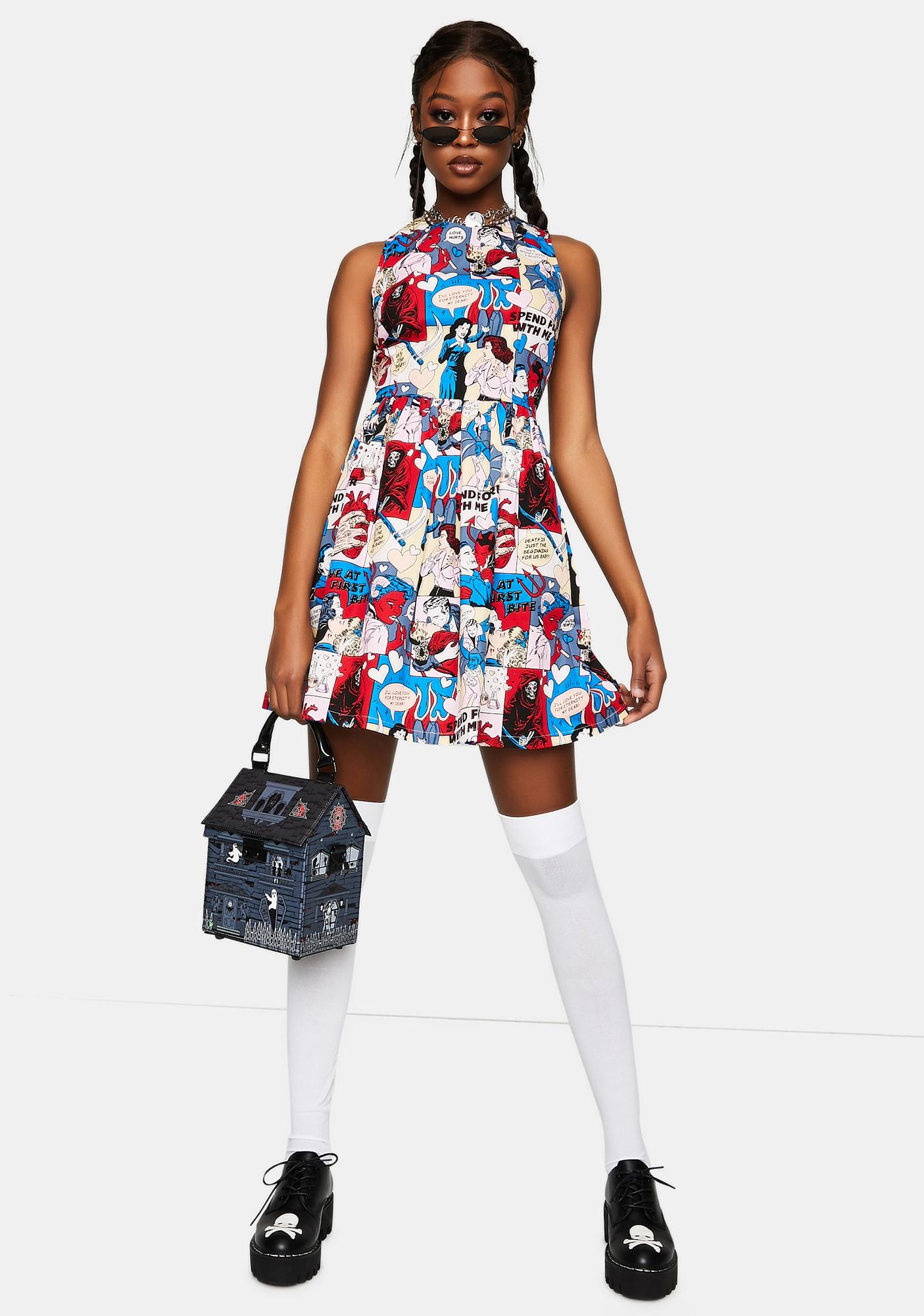Black Friday Love At First Bite Mini Dress